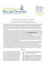 2007 Philadelphia deutsch - Duchenne Muskeldystrophie
