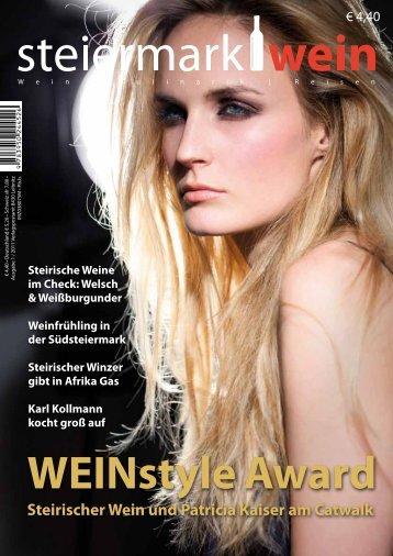 Steiermarkwein Ausgabe 8 - Frühjahr 2011