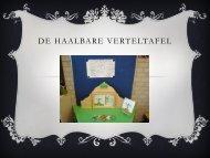 DE HAALBARE VERTELTAFEL - Asko