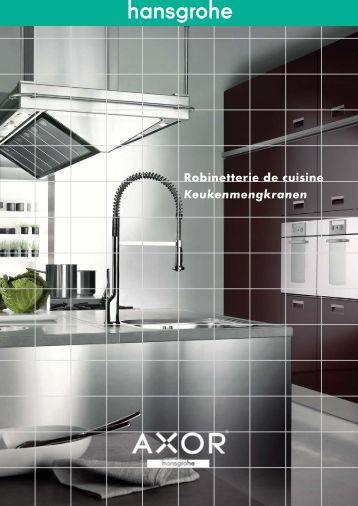 Keukenmengkranen brochure - Hansgrohe
