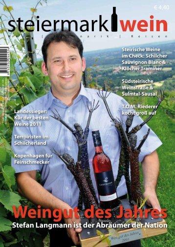Steiermarkwein Ausgabe 9 - Sommer 2011