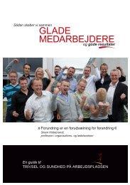 GLADE MEDARBEJDERE - Trivselogsundhed.nu
