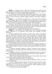 Türk Gıda Kodeksi Gıda Hakkında Tebliğ