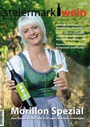 Steiermarkwein Ausgabe 10 - Herbst 2011