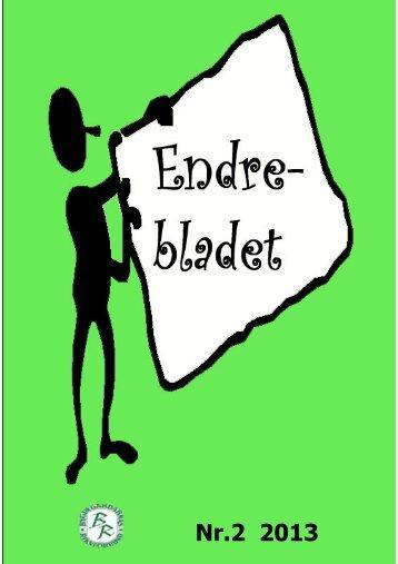 Endrebladet nr 2 2013 - Endre sockens hemsida
