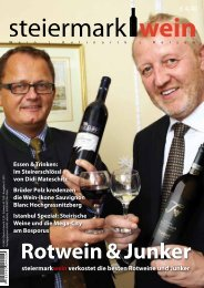 Steiermarkwein Ausgabe 11 - Winter 2011