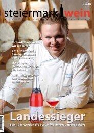 Steiermarkwein Ausgabe 13 - Sommer 2012