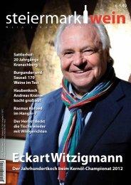 Steiermarkwein Ausgabe 14 - Herbst 2012
