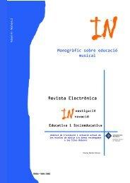 Revista electrónica d'Investigació i Innovació educativa i ...