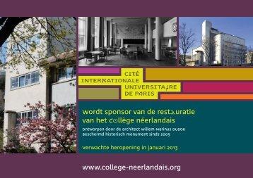 pROjECTEN - Cité internationale universitaire de Paris