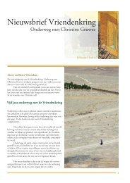 Nieuwsbrief 10 voorjaar 2013 - Iona Stichting