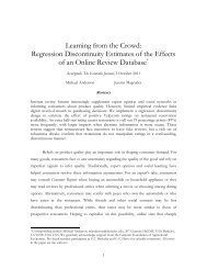 Learning from the Crowd - Agricultural and Resource Economics ...