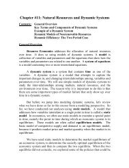 Chapter 11 - Agricultural and Resource Economics