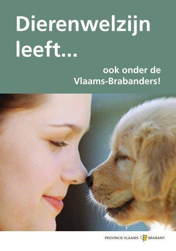 brochure dierenwelzijn - Gemeente Keerbergen