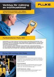Partikelmätaren Fluke 983 - Intertechna AB