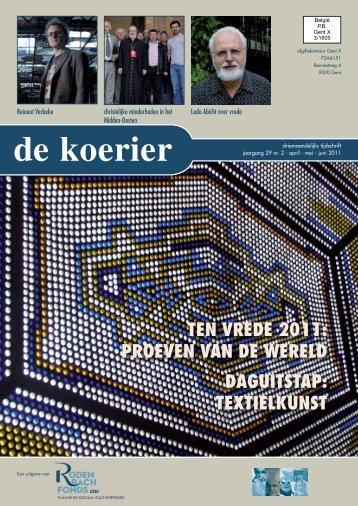 De Koerier, nr. 2 2011 - Reinout Verbeke / Reinout met Nevenwerking