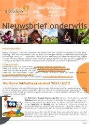Nieuwsbrief onderwijs maart 2011.pub - Skipos
