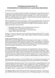 Vejledning og kommentarer til - Viborg Lærerkreds