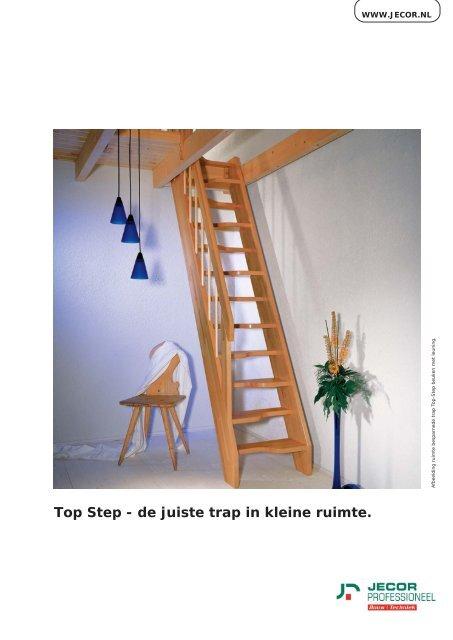 Spiksplinternieuw Top Step - de juiste trap in kleine ruimte. HM-04