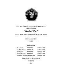 Cover Herbal Car - Universitas Brawijaya
