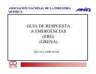 GUIA DE RESPUESTA A EMERGENCIAS (ERG) (GRENA)