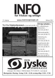 Info nr. 1 2011 - Filskov