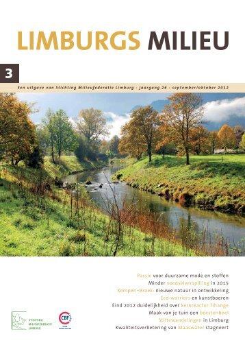 Limburgs Milieu nr. 3 2012 - Milieufederatie Limburg
