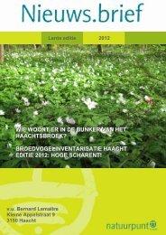 Lente 2012 - Natuurpunt Haacht