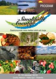 programmet - Turism i Västmanland