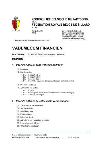 Financieel Vademecum - Kbbb Frbb