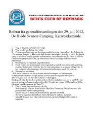 Referat fra generalforsamling 2012 - Buick Club of Denmark