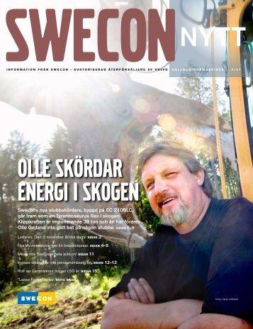 OLLE SKöRDAR ENERGI I SKOGEN - Swecon