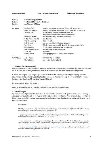 6 februari 2013 - Over GGz Breburg