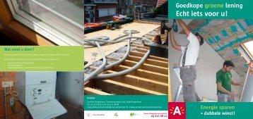 Goedkope groene lening Echt iets voor u! - EcoHuis Antwerpen ...