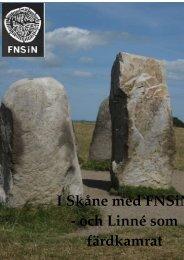 Skåne resorna - Föreningen Natur och Samhälle i Norden