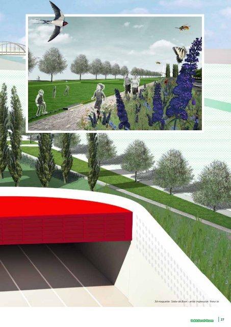 A2-park verbindt oost en west - Dak & Gevel Groen