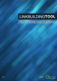 Handleiding Linkbuilding Tool (pdf)