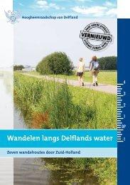 Wandelen langs Delflands water - Recreatie in Midden-Delfland
