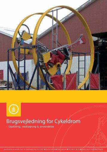 Brugsvejledning for Cykeldrom - Ranum Teltudlejning
