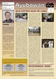 Ayubowan 09-2011.indd - Adoptie Sri Lanka vzw