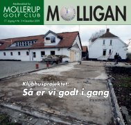 MOLLIGAN, december 2009 - Mollerup Golf Club