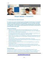 Westpark Highlights - 4e kwartaal 2011 - Westpark Accountants ...