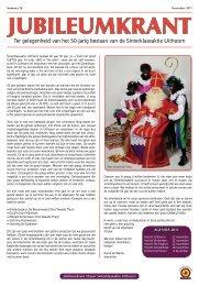 Ter gelegenheid van het 50-jarig bestaan van de Sinterklaasaktie ...