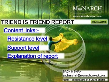 HOW TO READ TREND IS FRIEND REPORT