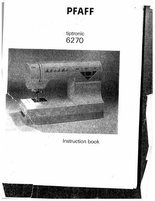 tiptronic 6270.pdf - Pfaff