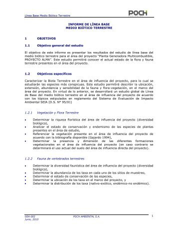 anexo 2. medio biotico - SEA - Servicio de evaluación ambiental
