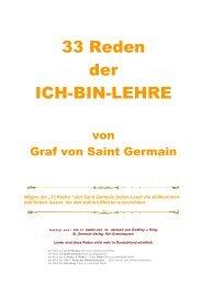 33 Reden der ICH-BIN-LEHRE - Teleboom.de