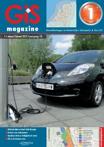 GIS-Magazine 01-2012. - StrateGis