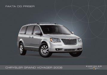 Chrysler Grand Voyager MY08