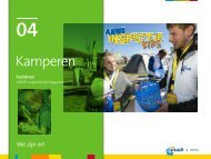 Kamperen Factsheet ANWB Inspectiekids Magazine - ANWB Media